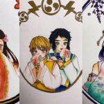 テ ィ ッ ク ト ッ ク 絵 | 鬼 滅 の 刃 イ ラ ス ト – TikTok Kimetsu no Yaiba Painting #141