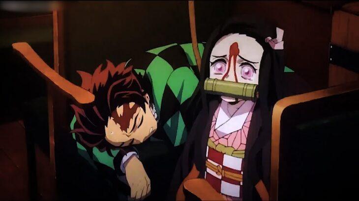 【鬼滅の刃】劇場版 鬼滅の刃 無限列車編 炭治郎の夢 竈門炭が丹次郎の頭を殴ったときに怪我をした