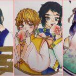 ティックトック絵 | 鬼滅の刃イラスト – Kimetsu no Yaiba Painting TikTok Awesome#0402