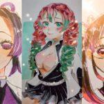 テ ィ ッ ク ト ッ ク 絵 | 鬼 滅 の 刃 イ ラ ス ト – TikTok Kimetsu no Yaiba Painting #143