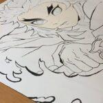 【鬼滅の刃】炎柱 煉獄杏寿郎 描いてみた