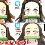 【鬼滅の刃】家族でコピック模写対決 14(竈門禰豆子)/Drawing kimetsu no yaiba with familiy
