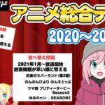 【アニメオタクなら常識!?】2020~2021年 アニメクイズ 全問正解で100点!あなたは何点でしたか?