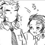 【鬼滅の刃漫画】伊黒小芭内と友達#326