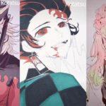 鬼滅の刃イラスト  Kimetsu no Yaiba Demon slayer ティックトック Tik Tok #4