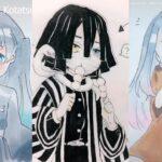 鬼滅の刃イラスト  Kimetsu no Yaiba Demon slayer ティックトック Tik Tok #5