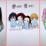 ティックトック絵 | 鬼滅の刃イラスト – Kimetsu no Yaiba Painting TikTok Awesome#1203