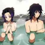 【鬼滅の刃】しのぶ「どうしてこうなったの?!」ぎゆしの初めての混浴温泉【声真似・LINE動画・アフレコ】