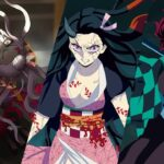 【MAD】  Nezuko ft Tanjiro Vs Giyuu and Rui 鬼滅の刃 Warriors