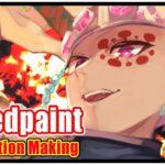 【Speedpaint】鬼滅の刃宇随天元メイキング【illustration making】