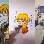 テ ィ ッ ク ト ッ ク 絵 | 鬼 滅 の 刃 イ ラ ス ト – TikTok Kimetsu no Yaiba Painting #182