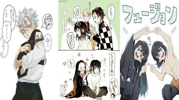 鬼滅の刃イラスト   ティックトック絵 ・TikTok Kimetsu no Yaiba Painting 💖Takuma Anime #48