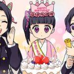 【鬼滅の刃】カナヲ、初めての誕生日【胡蝶三姉妹】声真似LINE