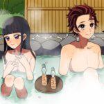 【鬼滅の刃・炭カナ】カナエ「夢じゃなかったのね〜♡」炭カナの初めての混浴温泉【声真似・LINE動画・アフレコ】
