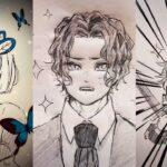 テ ィ ッ ク ト ッ ク 絵 | 鬼 滅 の 刃 イ ラ ス ト – TikTok Kimetsu no Yaiba Painting #202