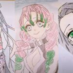 テ ィ ッ ク ト ッ ク 絵 | 鬼 滅 の 刃 イ ラ ス ト – TikTok Kimetsu no Yaiba Painting #204