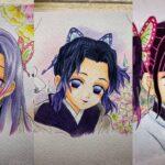 テ ィ ッ ク ト ッ ク 絵 | 鬼 滅 の 刃 イ ラ ス ト – TikTok Kimetsu no Yaiba Painting #206