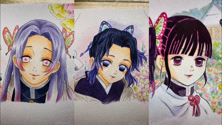 テ ィ ッ ク ト ッ ク 絵   鬼 滅 の 刃 イ ラ ス ト – TikTok Kimetsu no Yaiba Painting #206