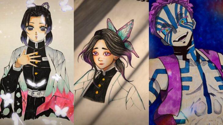 テ ィ ッ ク ト ッ ク 絵 | 鬼 滅 の 刃 イ ラ ス ト – TikTok Kimetsu no Yaiba Painting #207