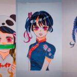テ ィ ッ ク ト ッ ク 絵 | 鬼 滅 の 刃 イ ラ ス ト – TikTok Kimetsu no Yaiba Painting #212
