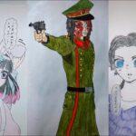 テ ィ ッ ク ト ッ ク 絵   鬼 滅 の 刃 イ ラ ス ト – TikTok Kimetsu no Yaiba Painting #218