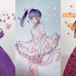 テ ィ ッ ク ト ッ ク 絵   鬼 滅 の 刃 イ ラ ス ト – TikTok Kimetsu no Yaiba Painting #225