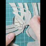 アニメ:鬼滅の刃《煉獄 VS 猗窩座》をガラス板へサンドブラストで描いてみた! #3 anime:kimetsu no yaiba《rengoku vs akaza》glass art