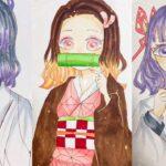 テ ィ ッ ク ト ッ ク 絵   鬼 滅 の 刃 イ ラ ス ト – TikTok Kimetsu no Yaiba Painting #243