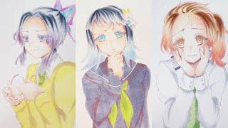 テ ィ ッ ク ト ッ ク 絵 | 鬼 滅 の 刃 イ ラ ス ト – TikTok Kimetsu no Yaiba Painting #253