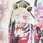 テ ィ ッ ク ト ッ ク 絵 | 鬼 滅 の 刃 イ ラ ス ト – TikTok Kimetsu no Yaiba Painting #262