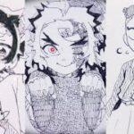 テ ィ ッ ク ト ッ ク 絵   鬼 滅 の 刃 イ ラ ス ト – TikTok Kimetsu no Yaiba Painting #263