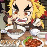 【鬼滅の刃】目を奪う煉獄杏寿郎の食事【Demon Slayer】