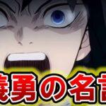 【鬼滅の刃】義勇の名セリフランキング!!TOP10*ネタバレ注意【きめつのやいば】