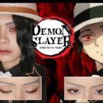 kibutsuji muzan cosplay makeup |鬼滅の刃/Kimetsu no Yaiba| สอนแต่งหน้ามุซันคอสเพลย์