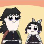 【鬼滅の刃】 기유시노 「화났어? 패러디」
