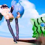 【鬼滅の刃】 メカ少女と伊之助との決闘が彼女を狂わせる Kimetsu No Yaiba