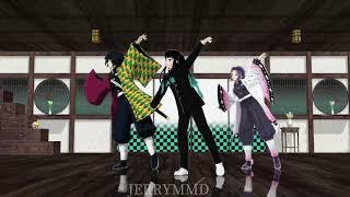 鬼滅の刃【花月成双】MMD