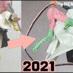 【鬼滅の刃】一年ぶりに蜜璃ちゃん作ってみたよ! | 【Demon Slayer】 Kanroji Mitsuri  Sculpting Figures