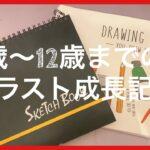 5歳〜中1にかけてのイラスト成長記録!【tokyo revengers】・【kimetsunoyaiba】・【kingdom】・【jujutsukaisen】
