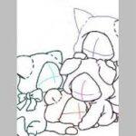 鬼滅の刃イラスト: 千寿郎、無一郎、玄弥と 禰豆子/ Senjuro,Muichiro,Genya and Nezuko.