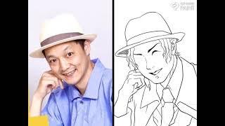 漫画家が無惨風に【鬼滅の刃】で似顔絵描いてみたら…!?